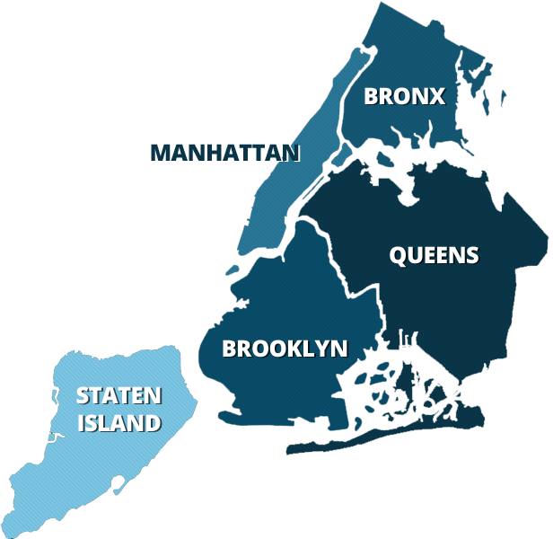Coverage Area - Ice Delivery | Dry Ice NYC |Firewood Delivery NYC on